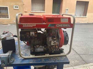 Generador diésel yanmar 3,7 kw