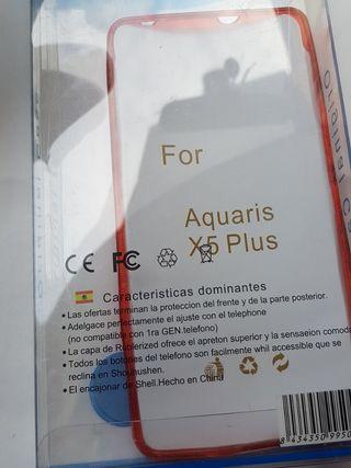 Funda BQ Aquaris X5 Plus