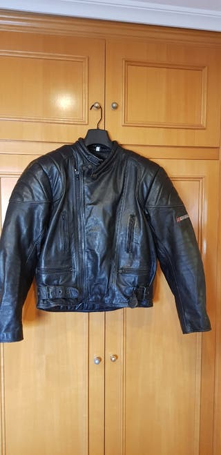Chaqueta piel moto Garibaldi