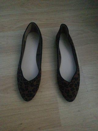 Manoletinas Leopardo NUEVAS Talla 41