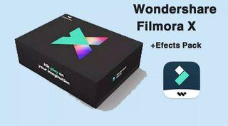 Wondershare Filmora X v10.0.6.8 + Effects Pack