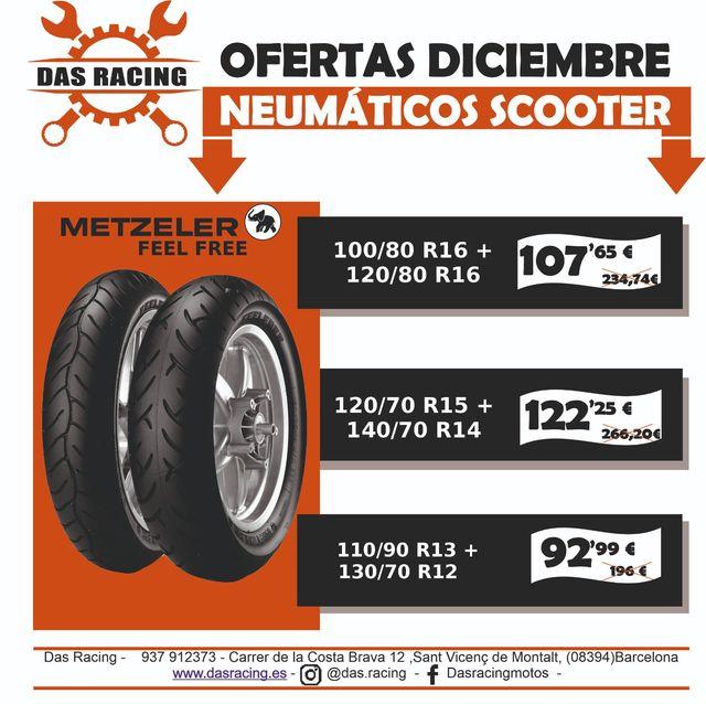 Neumáticos OFERTA Scooter
