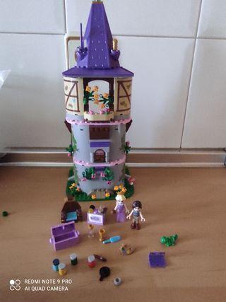 LEGO DISNEY CASTILLO CREATIVO RAPUNCEl