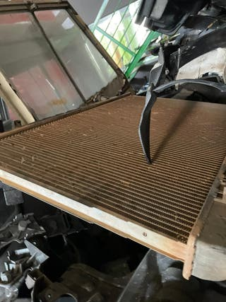 Radiador de agua Nissan navara