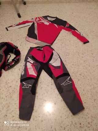 ropa motocross 2019 nueva sin apenas uso y peto