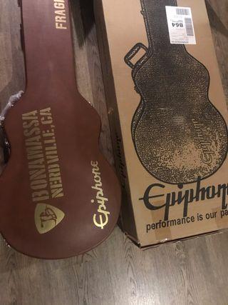 Epiphone Joe Bonamassa signature sin uso