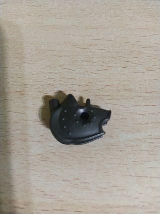 Playmobil máscara caballo medieval antracita