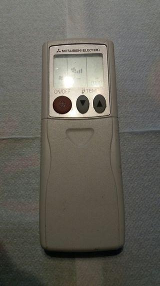 mando aire acondicionado frío calor Mitsubishi