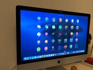 iMac 27 pulgadas 24 gb de ram, hd y ssd, 2gb gfx