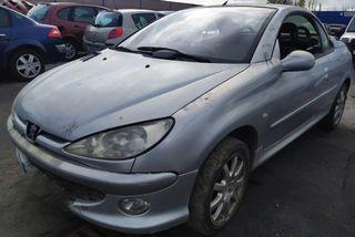 Peugeot 206 CC cabriolet descapotable despiece