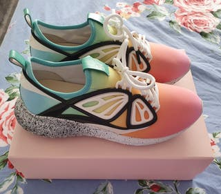 Rainbow trainers - Sophia Webster Fly-by sneakers