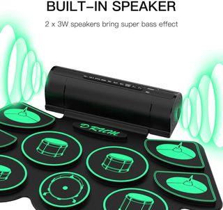 Bateria Electronica - 9 Almohadillas de Silicona