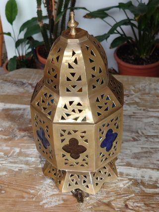 Mini Lámpara Árabe Artesanal / Marrakech