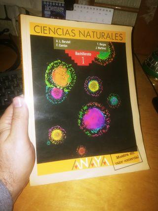 Libro: CIENCIAS NATURALES 1° BACHILLERATO ANAYa