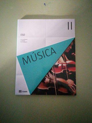 libro Música 2 ed Casals
