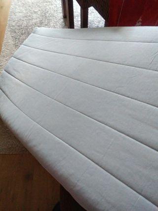 colchón de cuna ikea