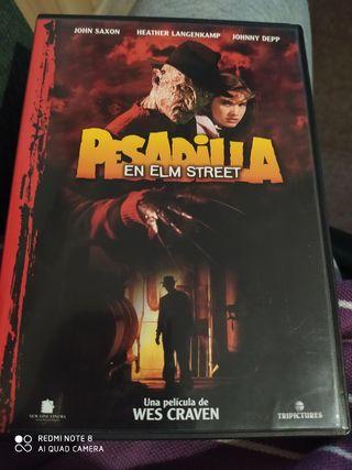 DVD PESADILLA EN ELM STREET (primera parte)
