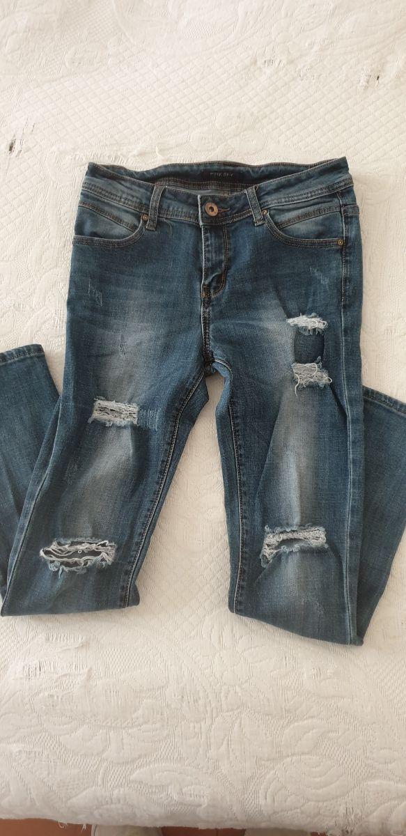 Pantalones Jeans Mujer Skinny De Segunda Mano Por 5 En Figueres En Wallapop