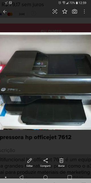 impresora hp officejet 7612 wide format