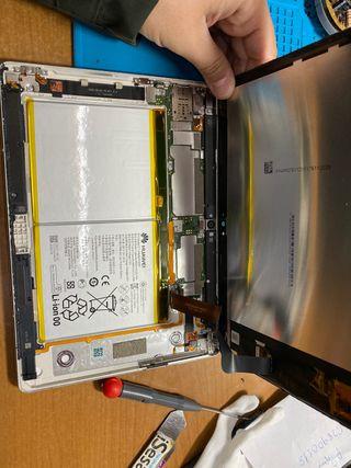 Reparación tablet M3 Huawei