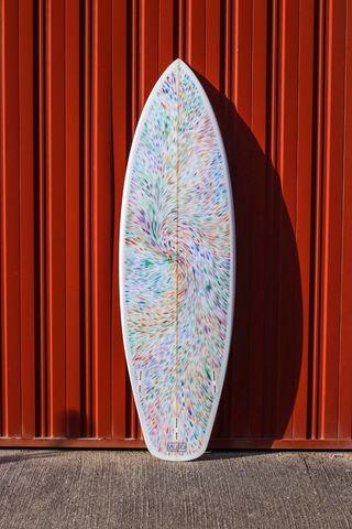 "tabla de surf 5'8"""
