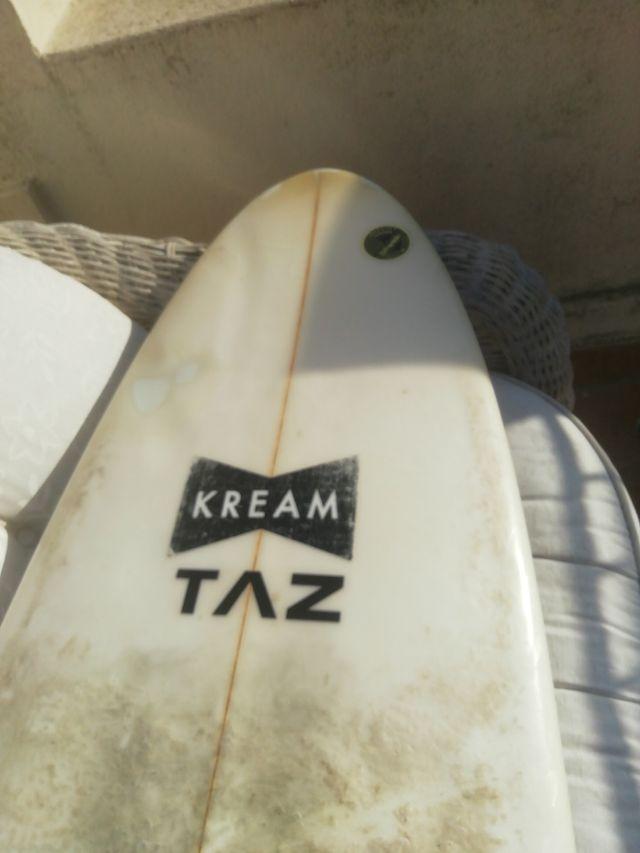 tabla surf, 5,9 x31 litros, sin quillas ni leash