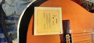 Guitarra flamenca Alhambra y funda profesional