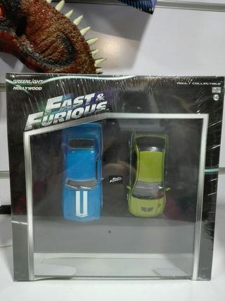 Pack Camaro Lancer Fast & Furious Greenlight 1/43