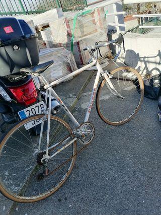 bici Peugeot carretera