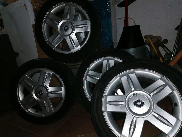 llantas de aluminio Renault