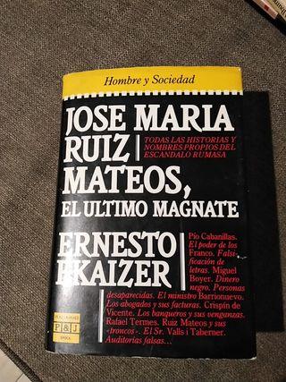 José Maria Ruiz mateos el último magnate