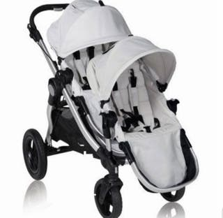 Coche Gemelar Baby Jogger City Select.
