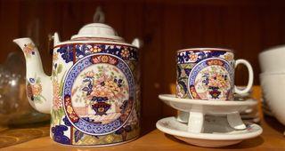 Juego de té antiguo