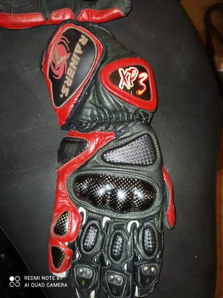 guantes moto rainers
