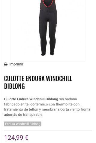 culotte Endura largo talla xl
