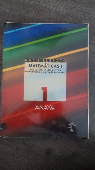 Matematicas 1 Bachillerato Ed. Anaya