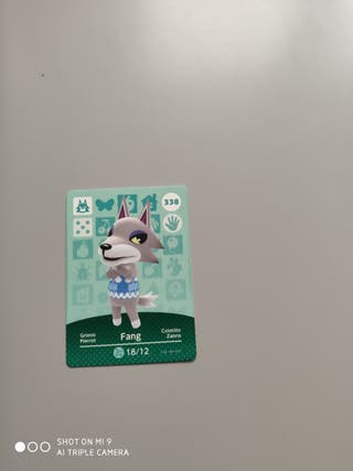 tarjeta animal crossing n° 338