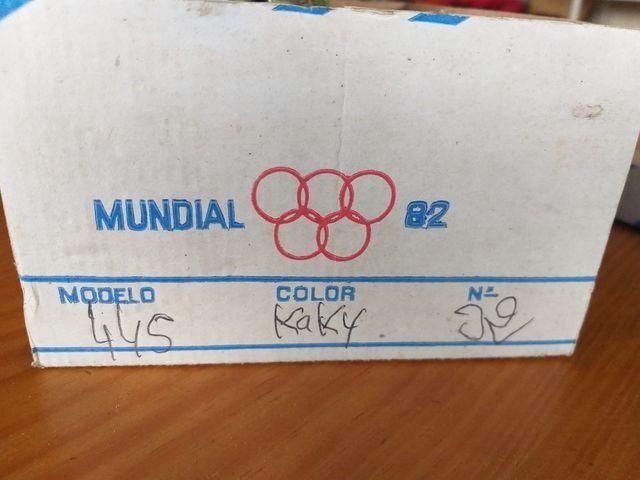 Antigual zapatillas Mundial 82