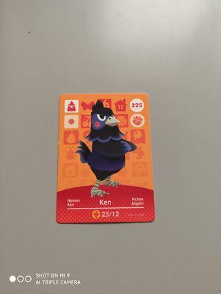 tarjeta animal crossing n° 225