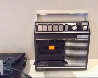 Cassette Sony portátil Vintage TC-77K