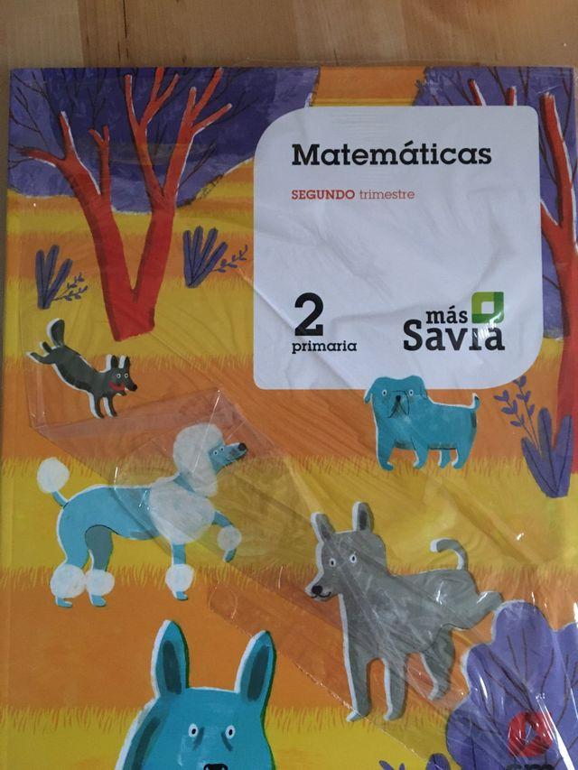 Matemáticas segundo de primaria