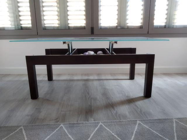 Mesa de centro salón elevable