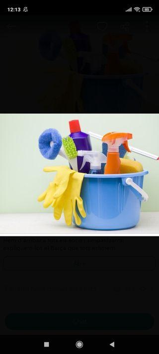 Se ofrece servicio de limpieza