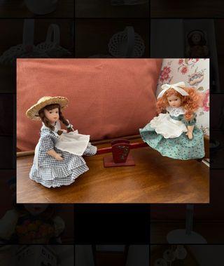 Muñecas porcelana NUEVAS