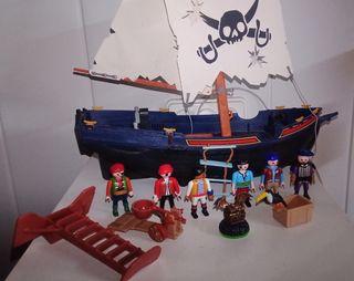 Barco pirata Playmobil más lo de fotos