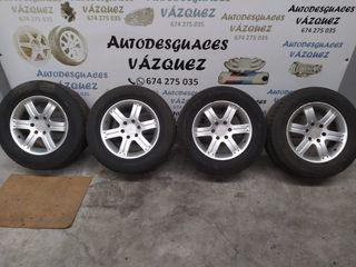 Llantas aluminio en 18 Mitsubishi Montero 3.2DID