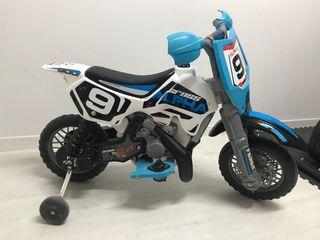 Moto Feber Cross Apha 6v niño