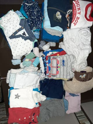 Lote ropa bebe niño de 9 a 12 meses
