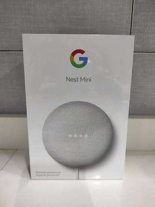 Google Nest Mini precintado