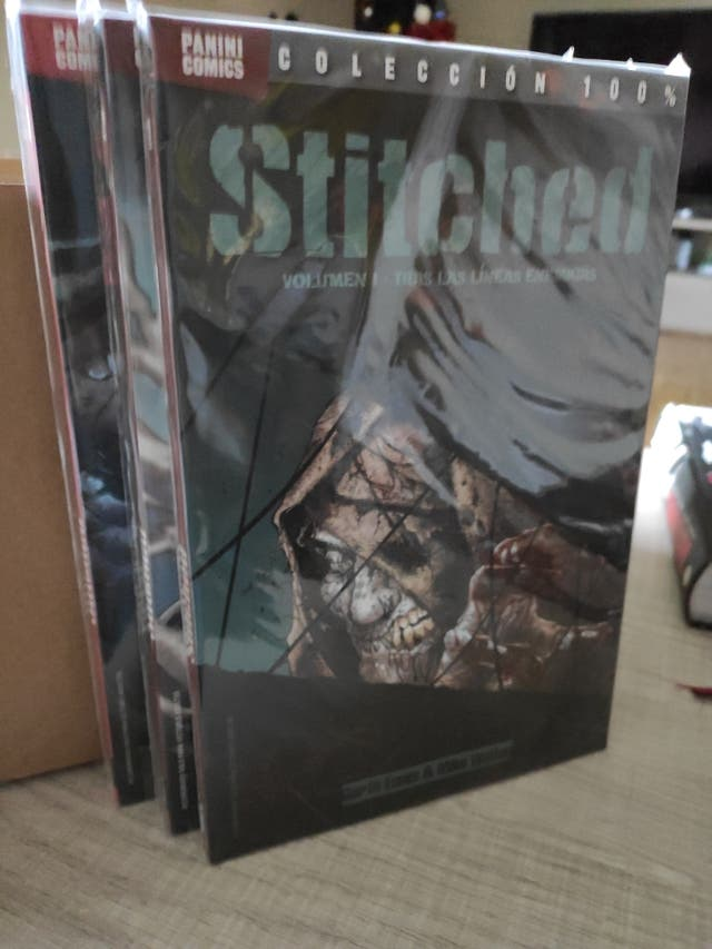 Comics Stitched.
